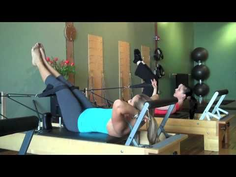 "Abdominal Workout on Pilates Reformer: AKA ""The Burns"" - YouTube"