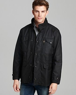 Barbour Sapper Waxed Cotton Jacket | Bloomingdale's