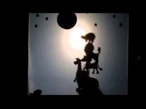 Teatro de sombras. A que sabe la luna - YouTube