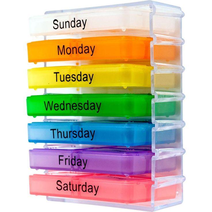 Remedy Pill Organizer http://www.wartalooza.com