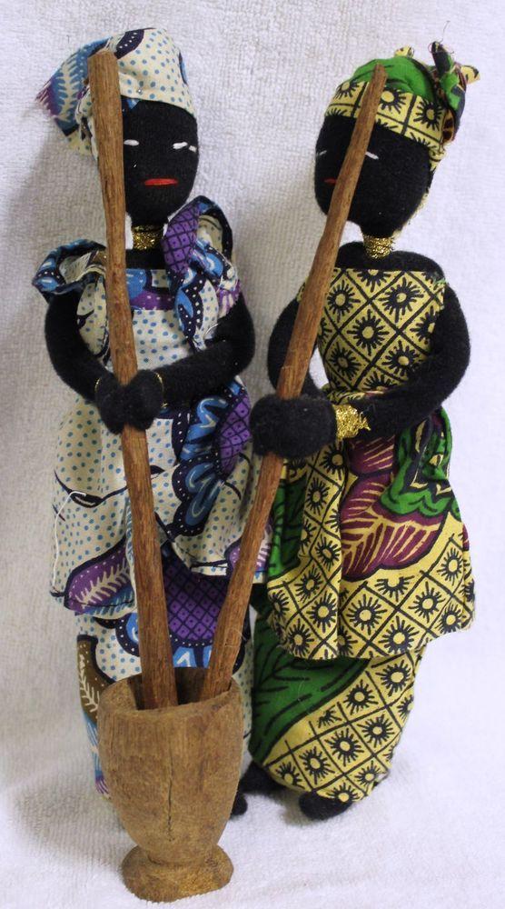 AFRICAN DOLLS-HANDMADE FROM SENEGAL #Dolls