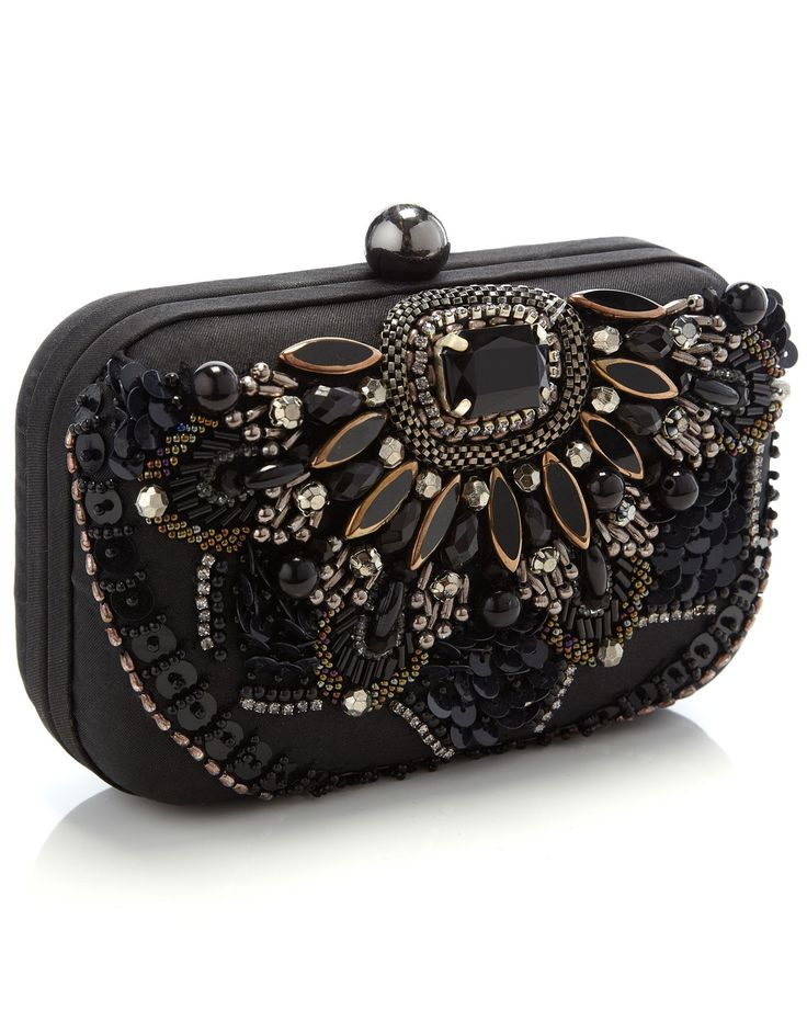 Best 25  Embellished clutch bags ideas on Pinterest | Green clutch ...