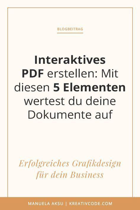 interaktives pdf erstellen mit diesen 5 elementen wertest du deine dokumente auf job. Black Bedroom Furniture Sets. Home Design Ideas