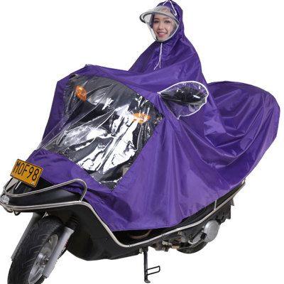 wholesale/retail, free shipping,individual driver ride bicycle Motorcycle raincoat poncho rain gear Oxford cloth