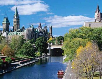 2014 Ontario Scenic Advertising Calendar - July 2014 - Rideau Canal, Ottawa