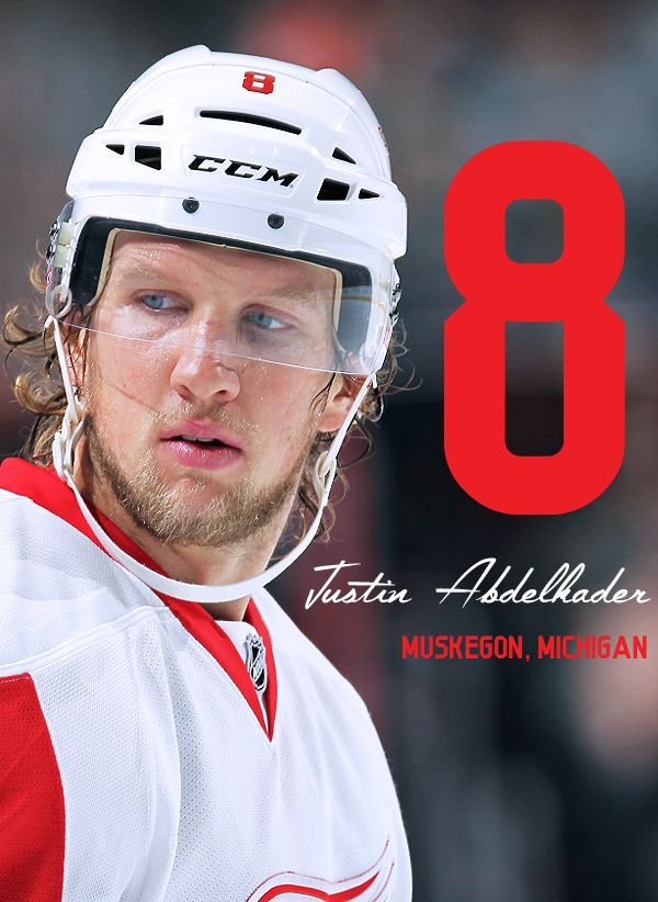 Your 2015-16 Detroit Red Wings#8 - Justin Abdelkader