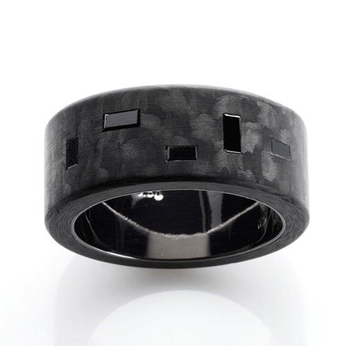 C6 Black Baguette 10mm Ring Exclusively Available @ Campbell Jewellers Donnybrook & Citywest Dublin Ireland