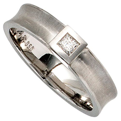 Dreambase Damen-Ring mattiert Platin 1 Diamant 0.10 ct. 56 (17.8) Dreambase http://www.amazon.de/dp/B00EYH81PQ/?m=A37R2BYHN7XPNV