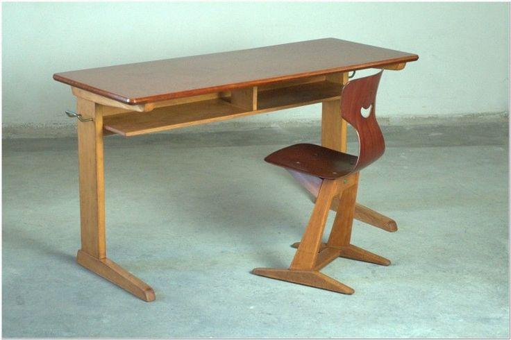 CASALA+Schultisch+Schreibtisch+Orig.+70+er+Vintage+von+designlieblinge+auf+DaWanda.com