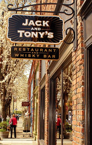Staying in Santa Rosa while you are on a Platypus Wine Tour? Be sure to check out one of our favorite restaurants Jack and Tony's Restaurant and Whiskey Bar.