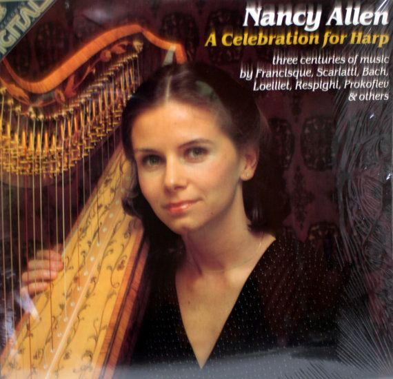 Nancy Allen A Celebration For Harp Vinyl LP by CreekLifeTreasures, $10.00