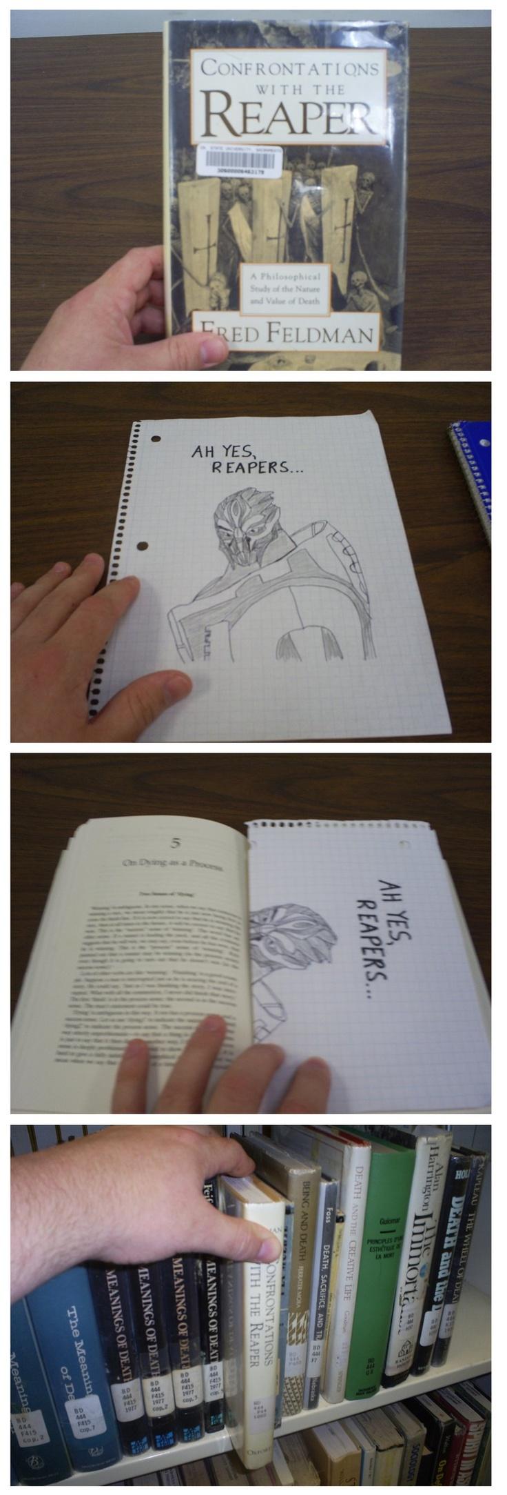 "Ah yeah, ""Books."""