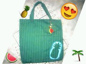 Dinarte Raposo Couture: DIY Bolsa de Praia (DIY Beach Bag)
