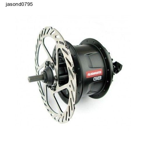 Car Brakes Sram G8 Disc Brake Hub - Black 13.5 cm Big Power Muscle Vehicle Parts