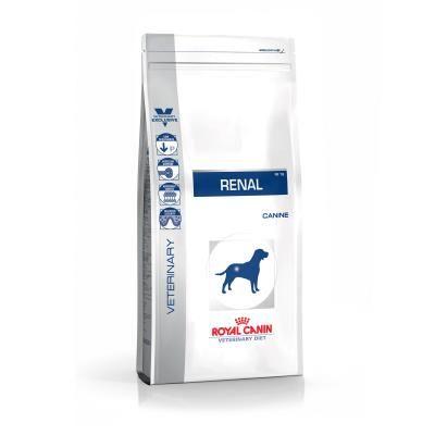 Animalerie  Croquettes royal canin veterinary diet renal pour chiens 12 boîtes de 410 g