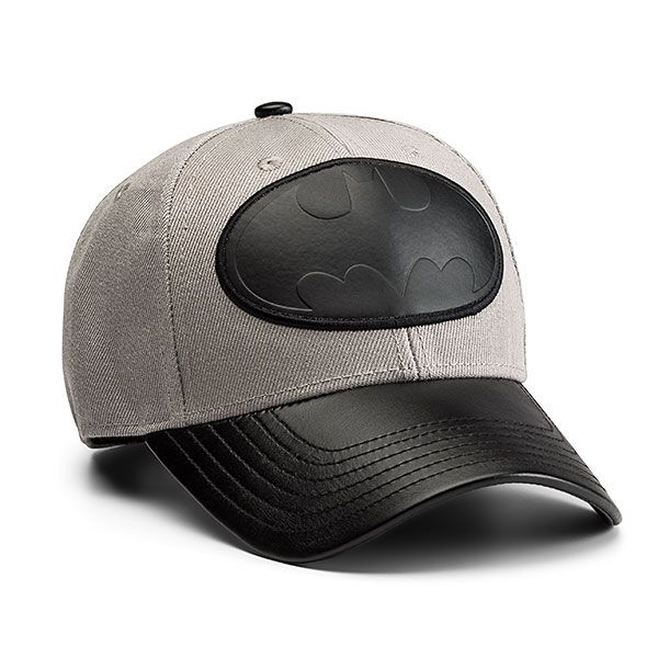 Batman Gray & Black Snapback Hat - $25 ⋆ Comic Book Gifts!