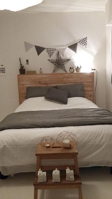 Location vacances maison Larmor Plage: La chambre de notre fille (avec un lit 2 places 140 X 190)