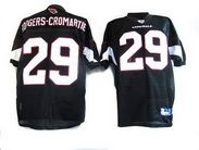 Rodgers-Cromartie Jersey, Reebok #29 Arizona Cardinals Authentic NFL Jersey in Black  ID:282 $20