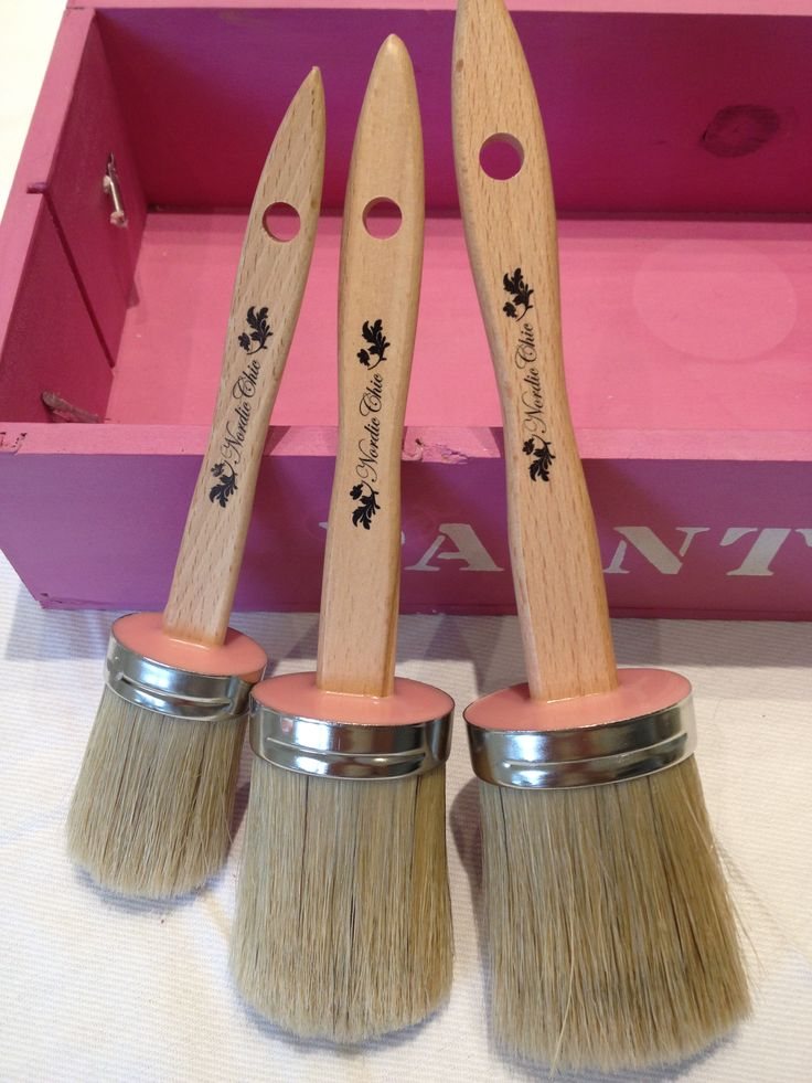 Our superior Nordic Chic Paintbrushes