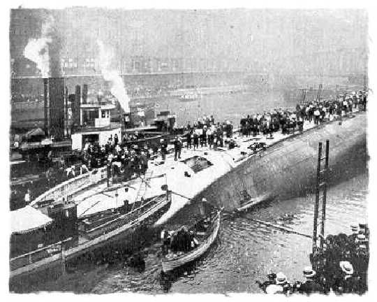 NO boats for me, EVER!!!! The SS Eastland was a passenger ship based in Chicago and used for tours. On July 24, 1915 the ship rolled over while tied to a dock in the Chicago River. A total of 844 passengers and crew were killed in what was to become the largest loss of life disaster from a single shipwreck on the Great Lakes