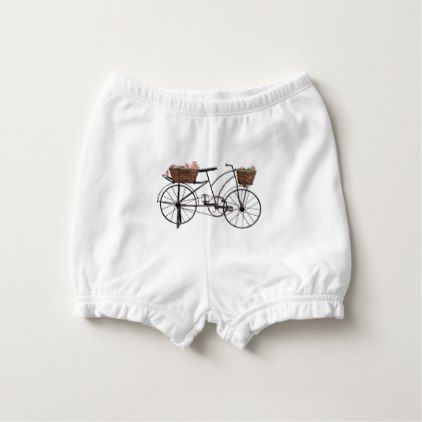 Antique bicycle diaper cover - antique gifts stylish cool diy custom