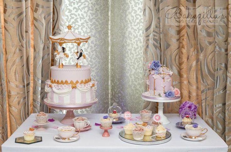 Stunning themed cake table from Bakezila Bespoke Cakes