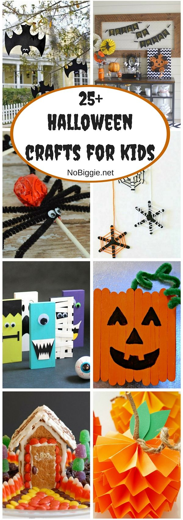25 halloween crafts for kids - Toddler Halloween Craft Ideas