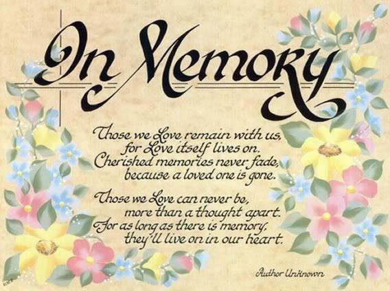 memories of people in heaven | memorial loved ones
