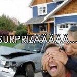 Surpriză pentru iubit Poze Amuzante