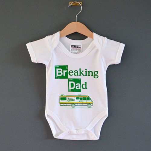 Breaking Dad Baby onesie. Alternative baby by NippazWithAttitude