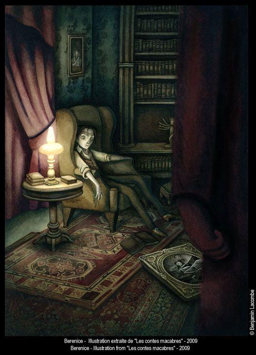 Benjamin Lacombe. Cuentos macabros