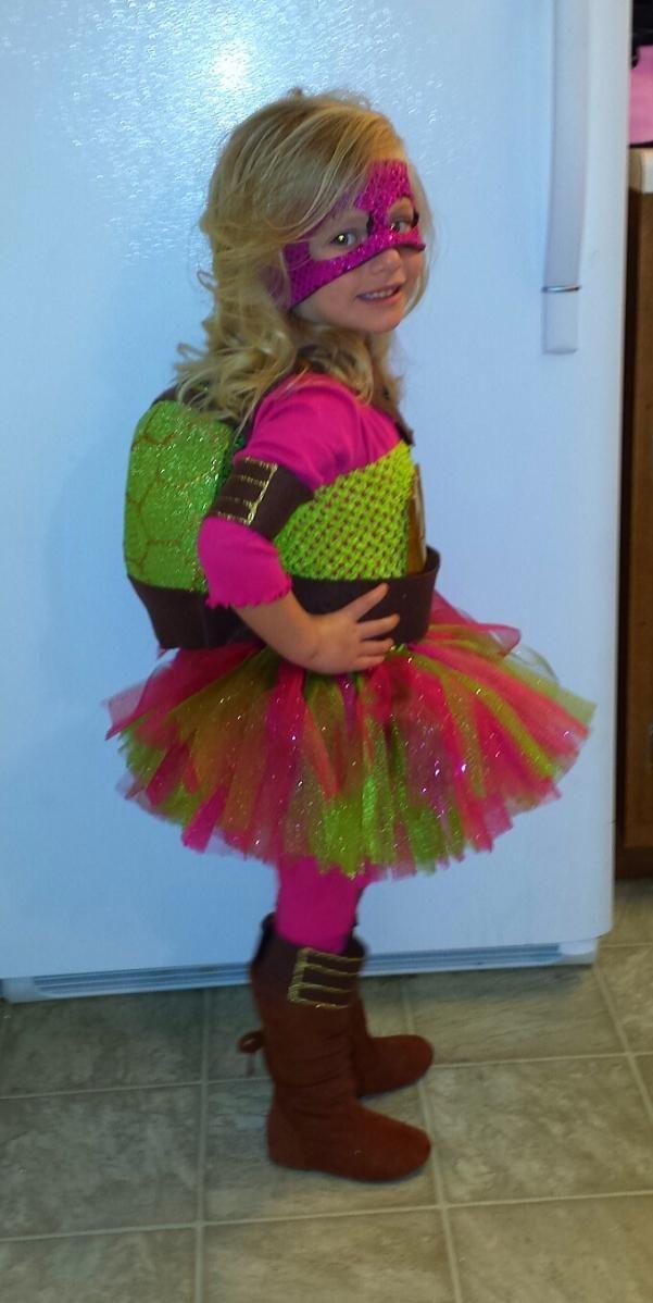 Pink Ninja Turtle Halloween Costumes For Girls Turtle