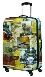 National Geographic Collage 28 Inch Hardside Spinner  - Hard Sided Travel Bags