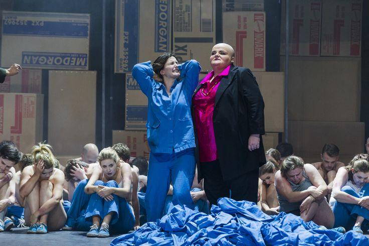 Turandot - Anna Patalong (Liu), Miriam Murphy (Turandot), The Chorus of Northern Ireland Opera - #TurandotBelfast
