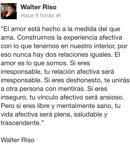 162 best images about walter riso on pinterest te amo for Frases de walter riso