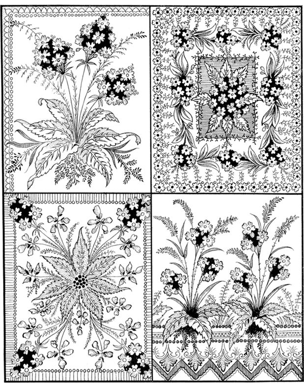 Welcome to Dover Publications / 600 Decorative Floral Designs / F. B. Heald