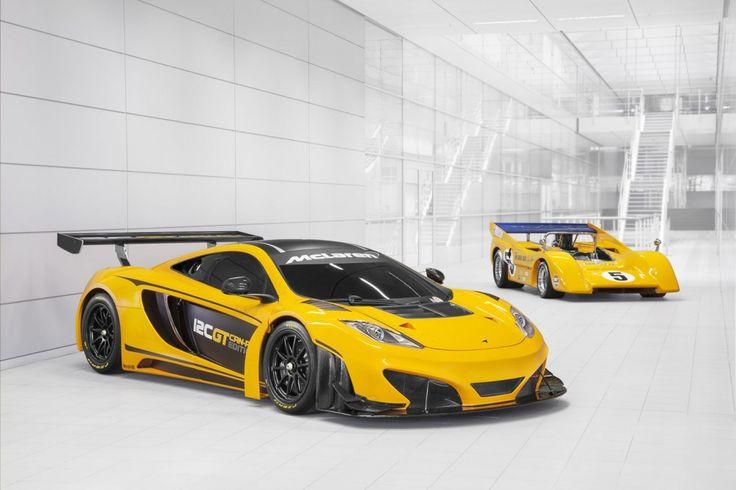 McLaren Can-Am race cars