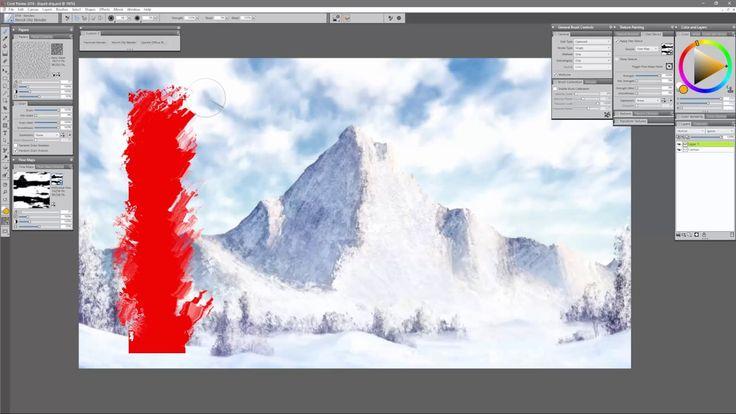 Corel Painter 2018 Digital Art Software NEW Drip & Liquid Enhancements