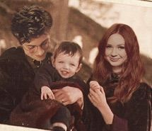 I just love to think that Karen Gillian as Lily Evans,  Aaron Johnson as James Potter