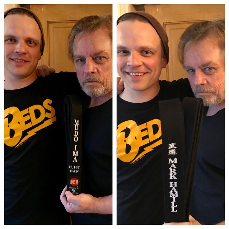 Mark Hamill w/son, Griffin Hamill