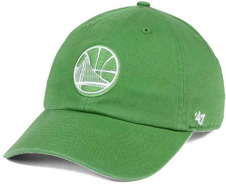 '47 Golden State Warriors Pastel Rush Clean Up Cap
