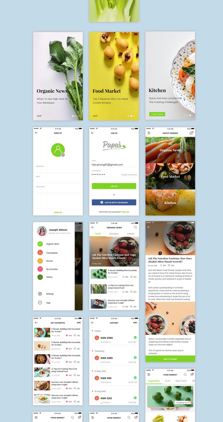 If you are looking for an app in which you can find information on organic vegetables, use Papa's Garden. True to its name, while using the app, you will step into a garden filled with fresh organic and green food, with bright images and crisp graphics. Information on organic vegetables, news about the food, cooking tips and hints, where to buy fresh food, Papa's Garden has all of them. Flat language design reconciles with rich content, you will be satisfied. Fresh all the time!