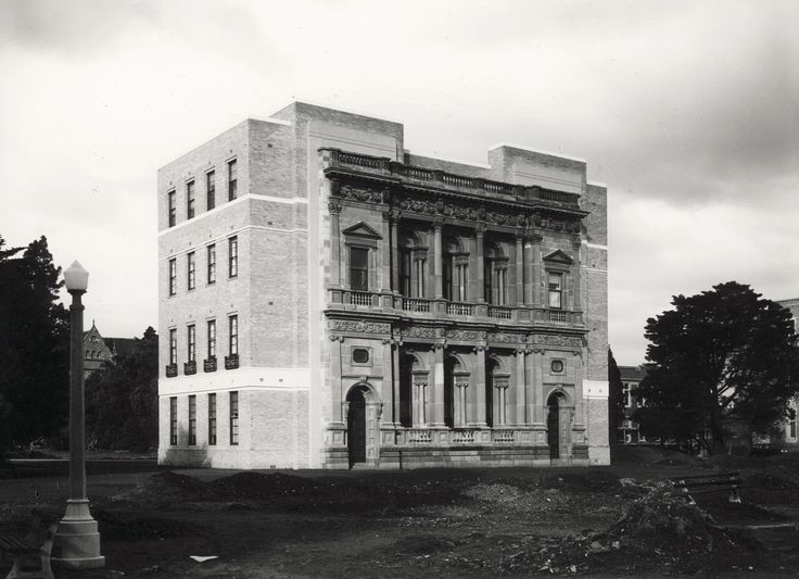 Facade of the Old Commerce Building