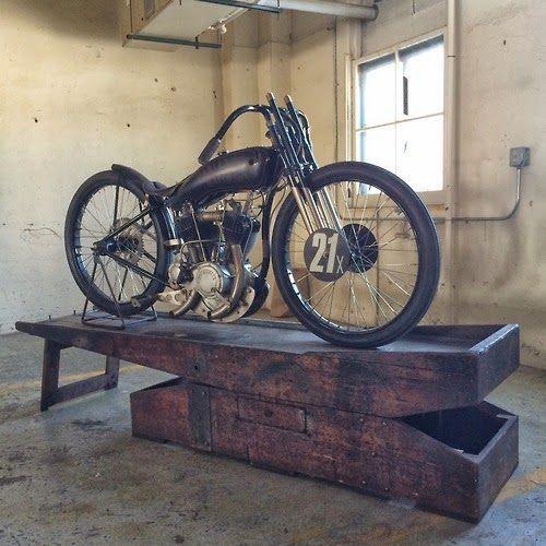 Fast is fast...: 1921 Harley race bike.