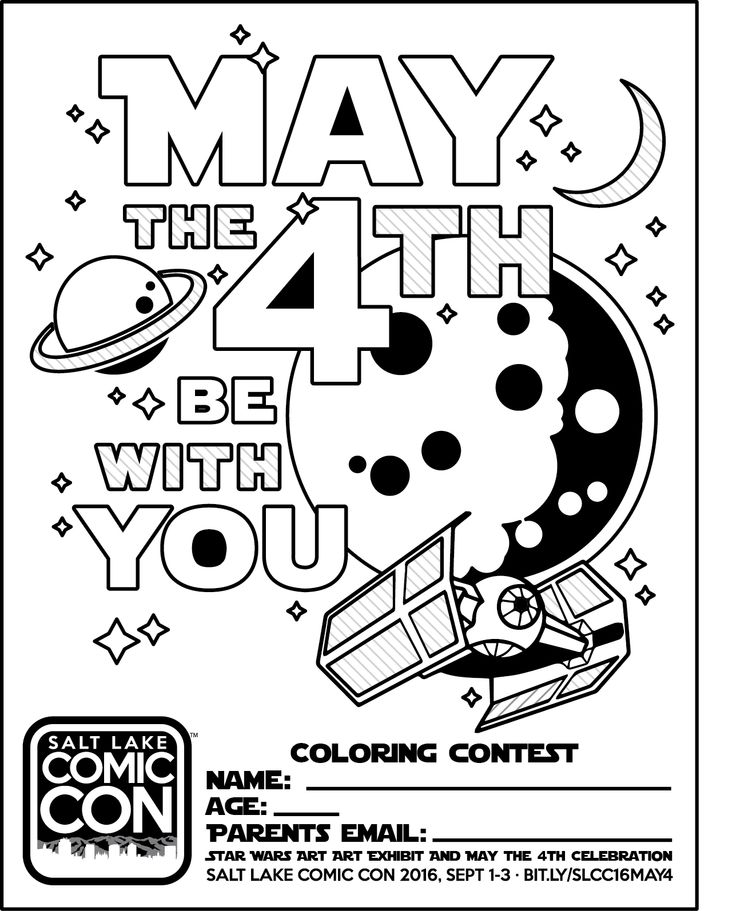 May The Fourth Be With You Wookie: 32 Best Images About Coloring-Star Wars On Pinterest