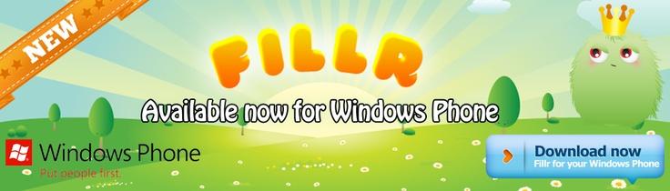 Fillr for Windows Phone