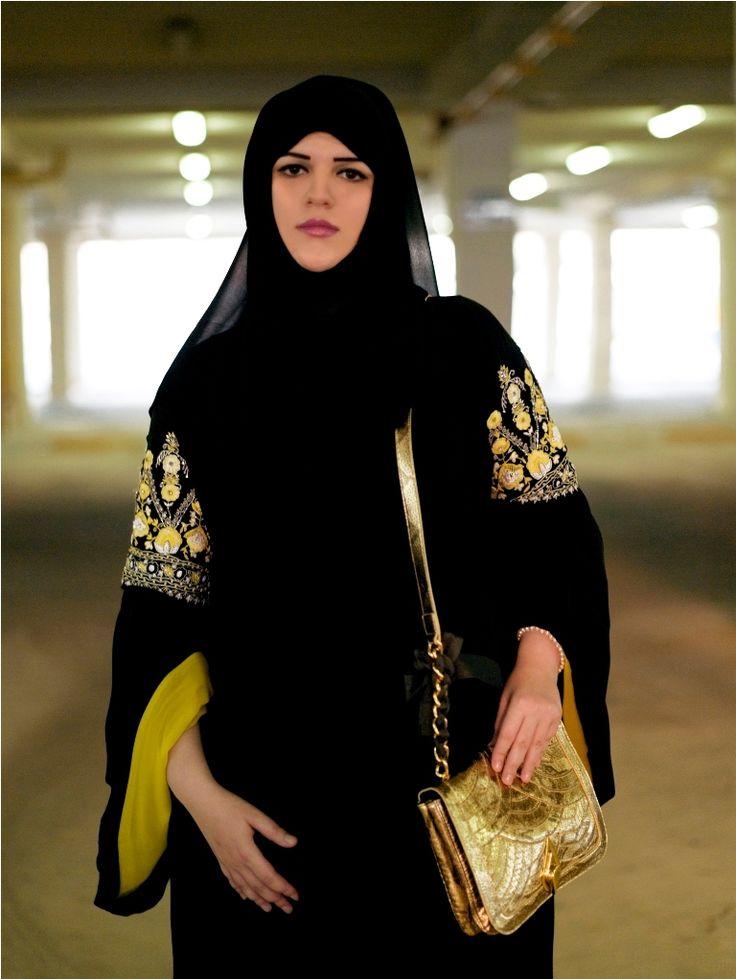 Veil Arts Face From Qatar  Hijab Fashion, Fashion -1434
