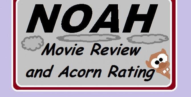 Noah, not a bad movie but kind of weird!