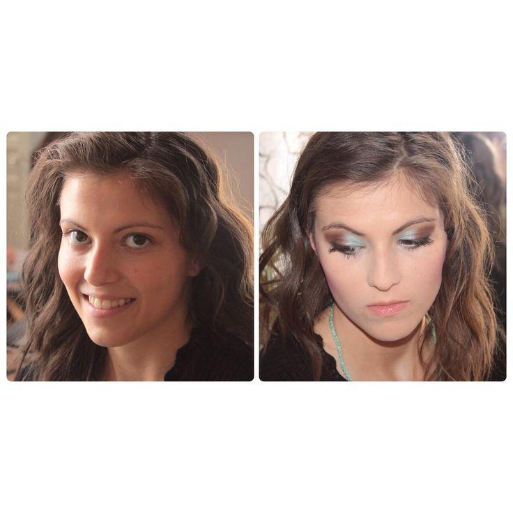 makeup artist resume%0A Makeover after   hours long makeup artist session