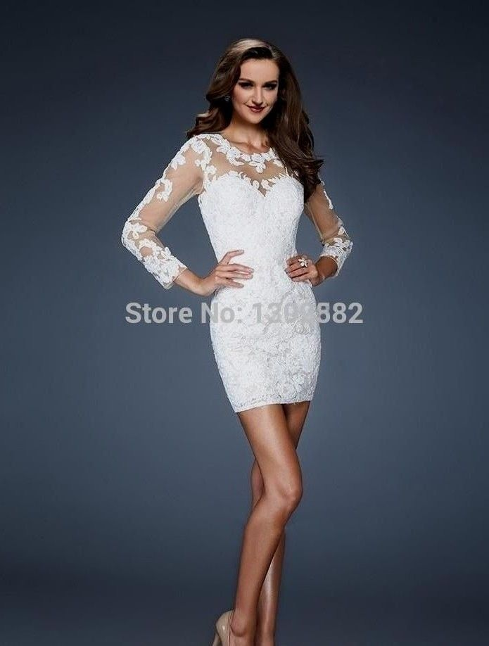 17 Best ideas about White Lace Cocktail Dress on Pinterest | Dress ...